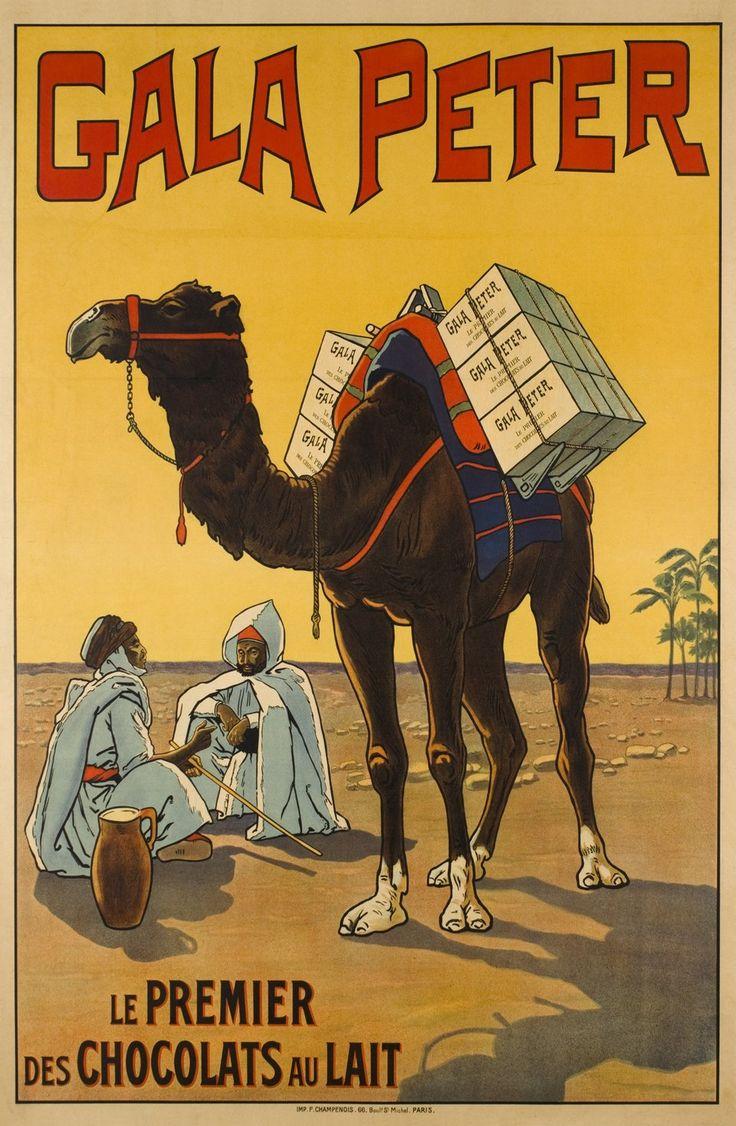 Gala Peter, le premier des chocolats au lait. ANONYME – 1905 circa