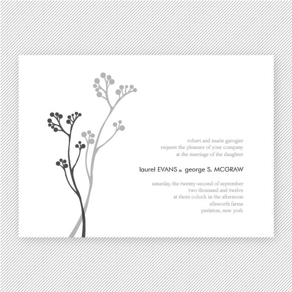 A delicate floral motif and small typography keep this design understated. #APWGD101 #layout