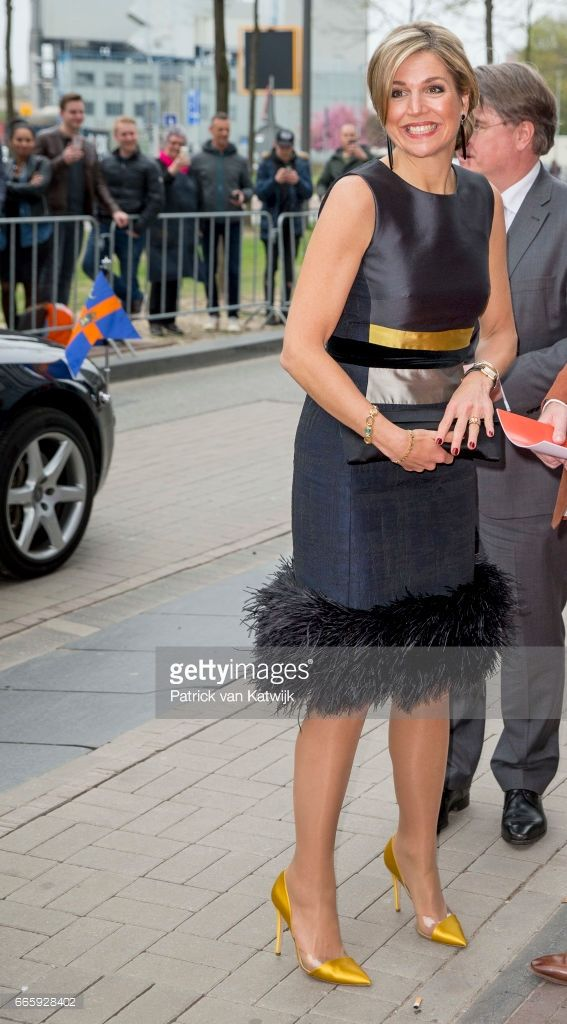 News Photo : Queen Maxima of the Netherlands opens the...