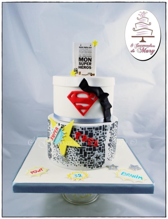 Super Papa <3 - Cake by Ô gourmandises de Mary