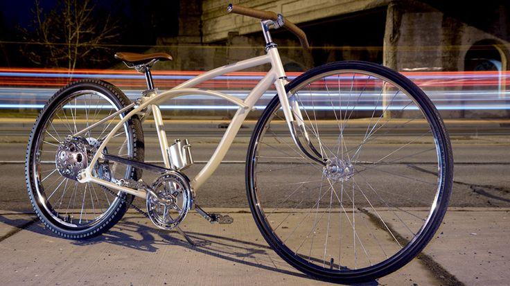 TRASH TO TREASURE - A CUSTOM HUFFY CRUISER - Rat Rod Bikes ...