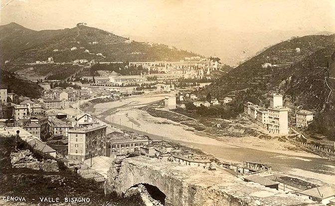 GENOVA - Valbisagno - FOTO STORICHE CARTOLINE ANTICHE E RICORDI DELLA LIGURIA