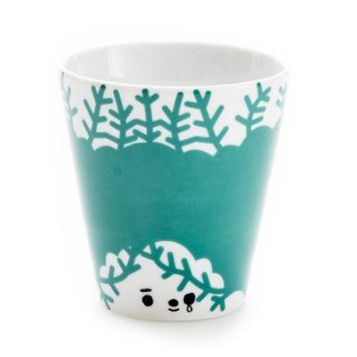 Cup friendly face green #houseofrym #scandinavian #design
