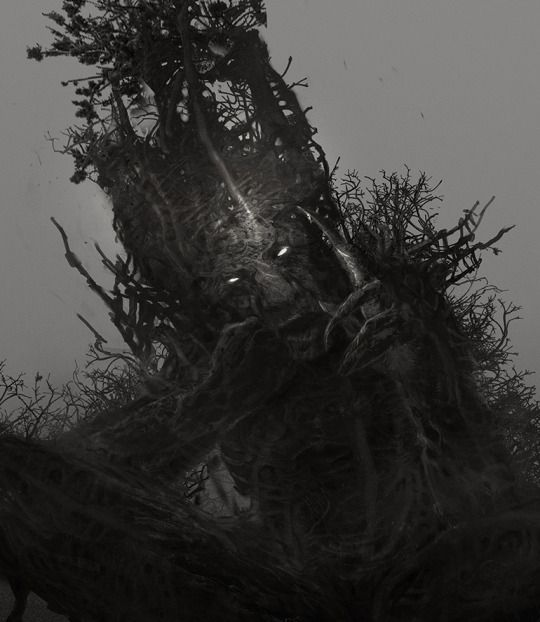 Monster, done for A Monster Calls movie by Andrei Riabovitchev