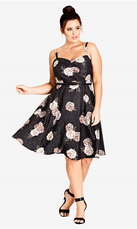 5522220754f Shop Women s Plus Size Antique Rose Dress