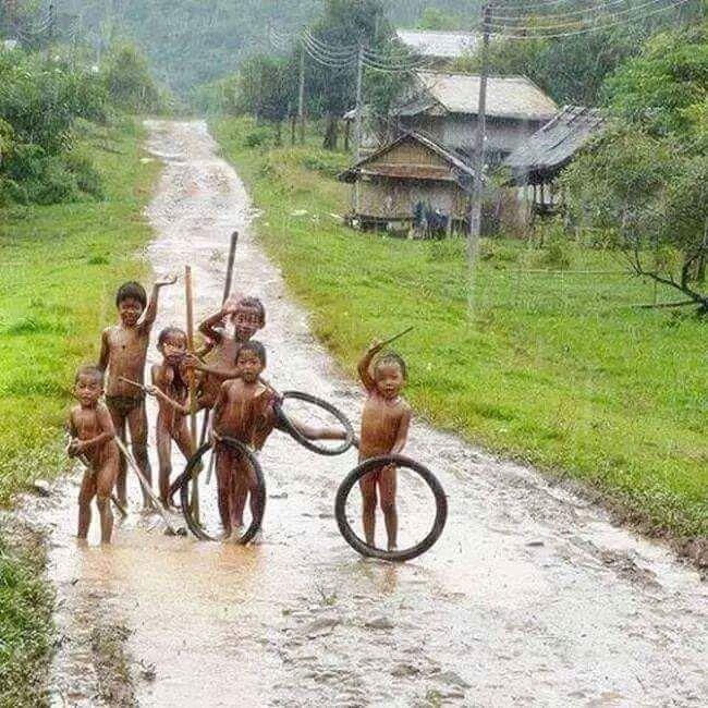 When it Rains in no big deal in Thailand
