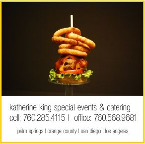 business card design with food styling and photo shoot by:  http://www.flaircreativeservices.com