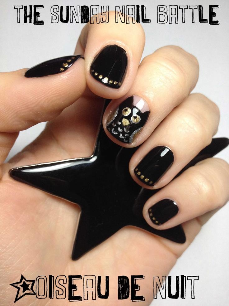 The sunday nail battle : oiseau de nuit