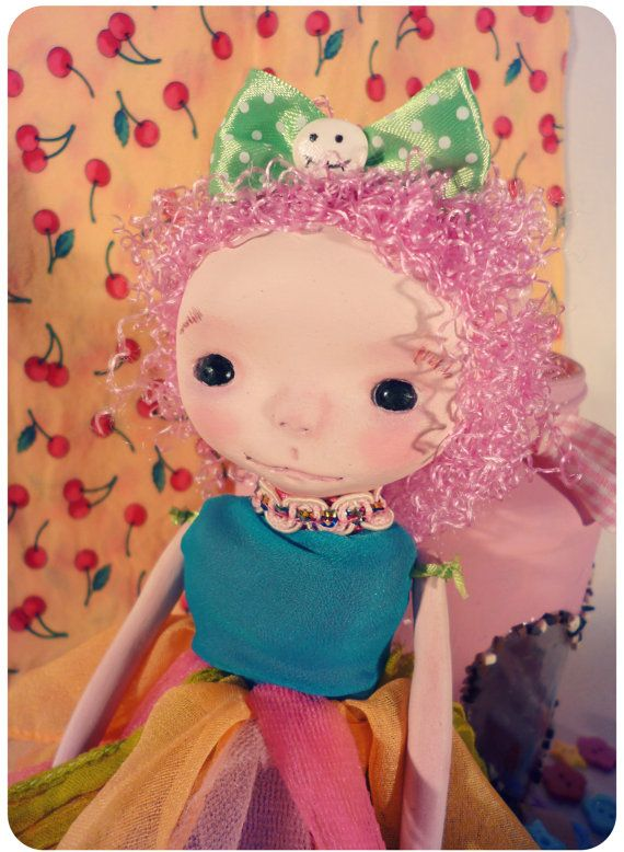 #handmade #ooak #doll