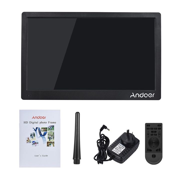 Andoer 17inch Digital Photo Sales Online black au - Tomtop.com