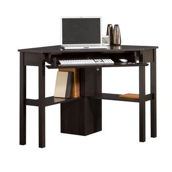 sauder office corner computer desk 98