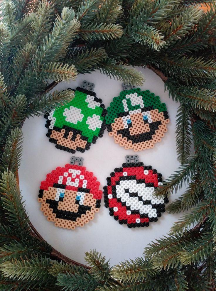 Pixel Art – Navidad IV – Super Mario |
