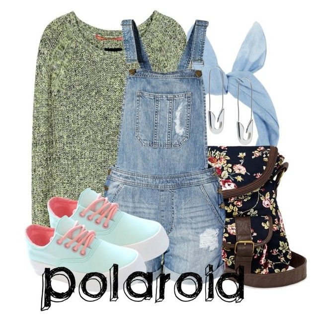 """Polaroid - Imagine Dragons"" by invadergarb ❤ liked on Polyvore featuring Dear Cashmere, By eLUXE and Tom Binns"