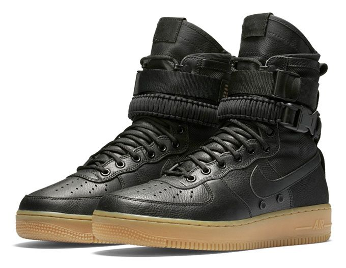 The Nike SFAF-1 – AKA the Nike Special Field Air Force 1 – touches down shortly, just in time for winter to arrive. See the full details at The Drop Date.