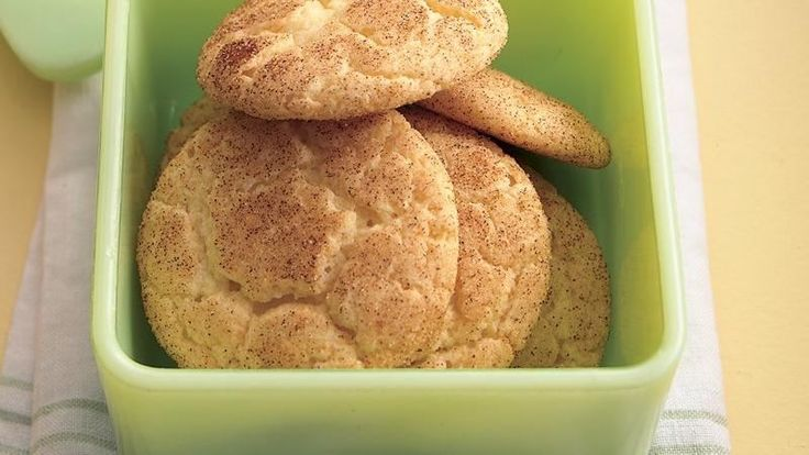 Five ingredients--including white cake mix--get these cinnamon-sugar cookies in the oven in just 20 minutes!