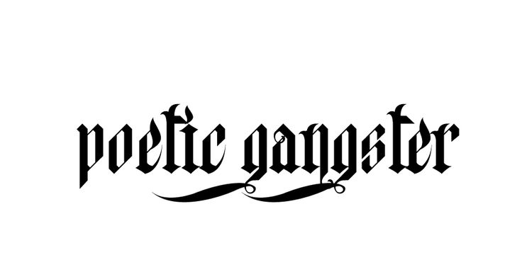 Poetic Gangster. Street style clothing at it's finest. Shop here: https://poeticgangster.com/