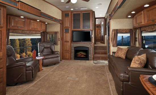 Eagle Premier Fifth Wheels - Jayco  (Wouldn't be right to pin under camping!)