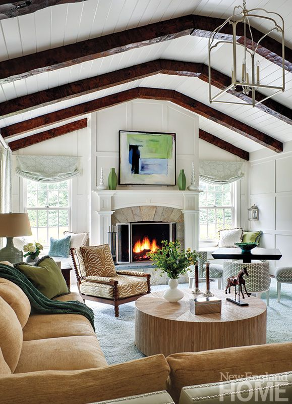 Gerald Pomeroy Design Group :: Styled By Kyle Hoepner :: Photographer Bruce Buck :: New England Home Magazine