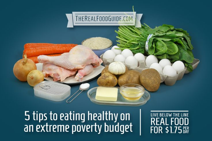 5 tips to eating healthy on an extreme poverty budget - part of the Live Below the Line challenge