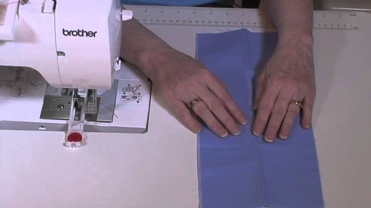 Brother NV950 How to Prepare Fabric for Buttonholes