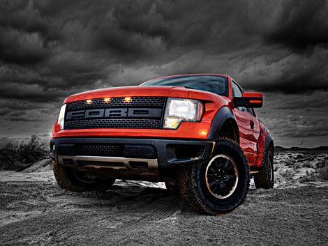 classic Ford Raptor Trucks