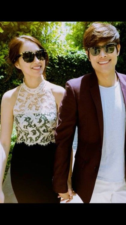 Lee Min Jung and Lee Byung Hun Release Candid Pictures Prior to August 10th Wedding   A Koala's Playground