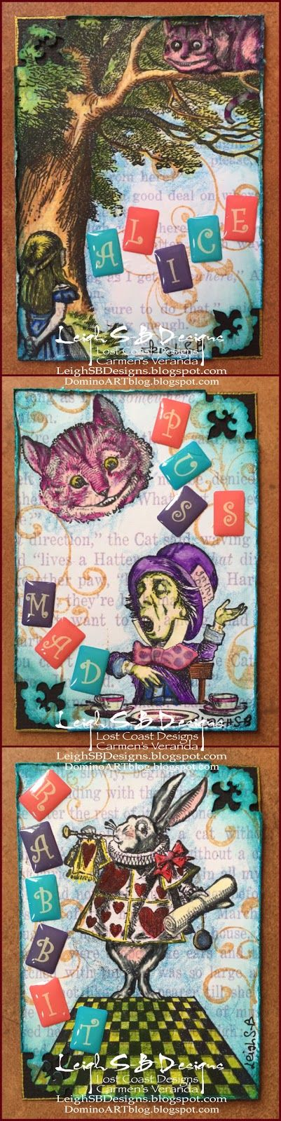 Leigh S-B Designs: Alice in Wonderland Swap!