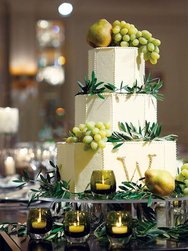 東京ステーションホテル(THE TOKYO STATION HOTEL) Wedding Cake ふたりのパーティに華を添えるカスタムメイドのウエディング・ケーキ