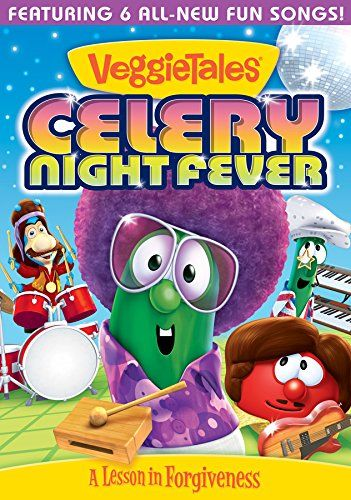 Veggie Tales Celery Night Fever DVD Giveaway Sponsored By Propeller Consulting Hosted Living The Fantabuless Life I Wa