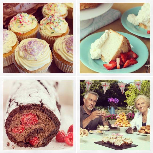Week 1 - gluten free recipes from the Great British Bake Off