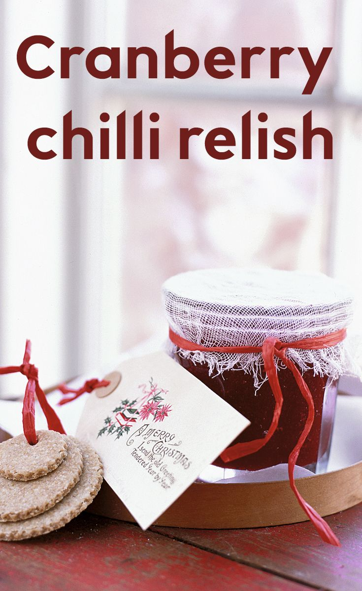This spicy preserve fills several small jars, making it perfect for a Christmas gift.  It will keep for up to a month but make sure you store it in the fridge once the jars are opened