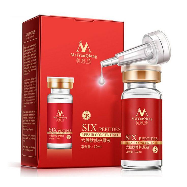 Argireline + Aloe Vera + Kollagen Peptide Verjüngung Anti-falten Serum Für Das Gesicht Hautpflege Produkte Anti-aging heißer