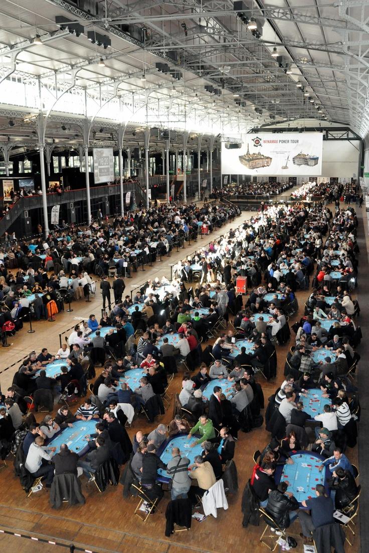 #WiPT - Que c'est beau une salle pleine à craquer d'amateurs de poker ! Bonne chance aux 2000 joueurs du WiPT Paris ! #Winamax #poker