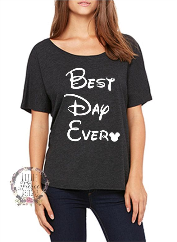 Check out this item in my shop  https://littlebutfierceco.com/collections/disney-inspired-shirts/products/disney-shirt-best-day-ever-disney-shirts-for-women?variant=32286058180