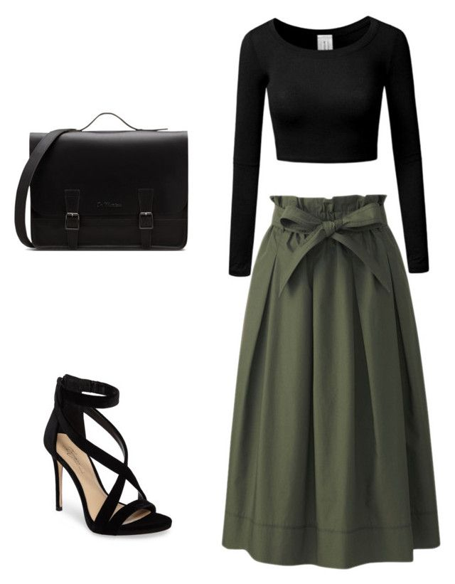 """Untitled #2"" by stephaniearvizu on Polyvore featuring Uniqlo and Imagine by Vince Camuto"