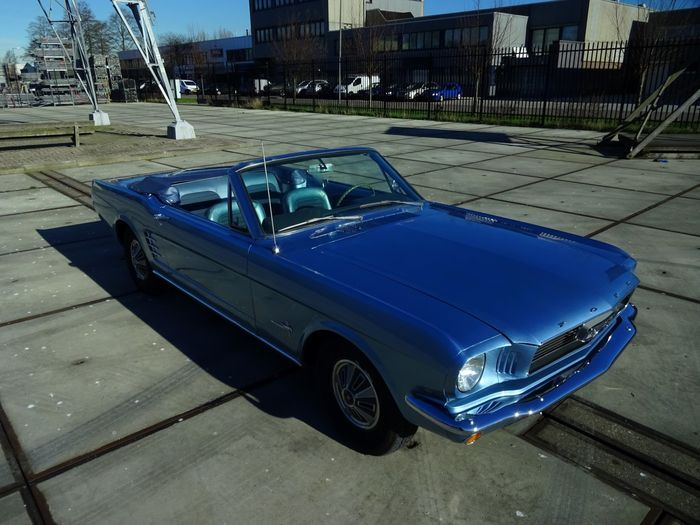 Ford Mustang cabriolet - 1966 Maintenance/restoration of old/vintage vehicles: the material for new cogs/casters/gears/pads could be cast polyamide which I (Cast polyamide) can produce. My contact: tatjana.alic@windowslive.com