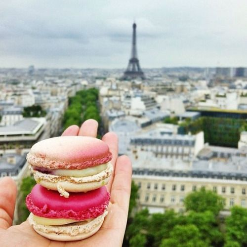 Macarons in Paris. I want to be that cliché :)