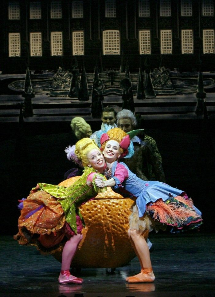 Quenby Hersh as Cinderella and Christopher Harrison as the Prince in Ashley Page's Cinderella. Photograph by Graham Wylie