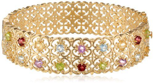 18k Yellow Gold Plated Sterling Silver Multi-Gemstone Bracelet Amazon Curated Collection,http://www.amazon.com/dp/B002KMIRJW/ref=cm_sw_r_pi_dp_pPoltb1D2B13RE41