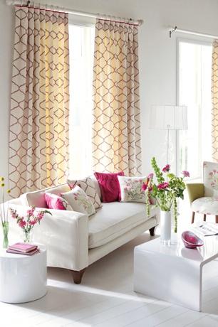 Nice Pink Living RoomsLiving Room