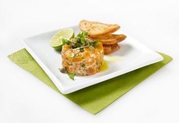 Tartare de #saumon