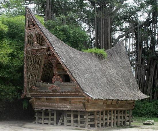 Traditional Batak house, Indonesia