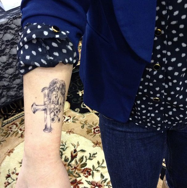 17 best images about skyn demure exclusive temporary for How to make a fake tattoo look real