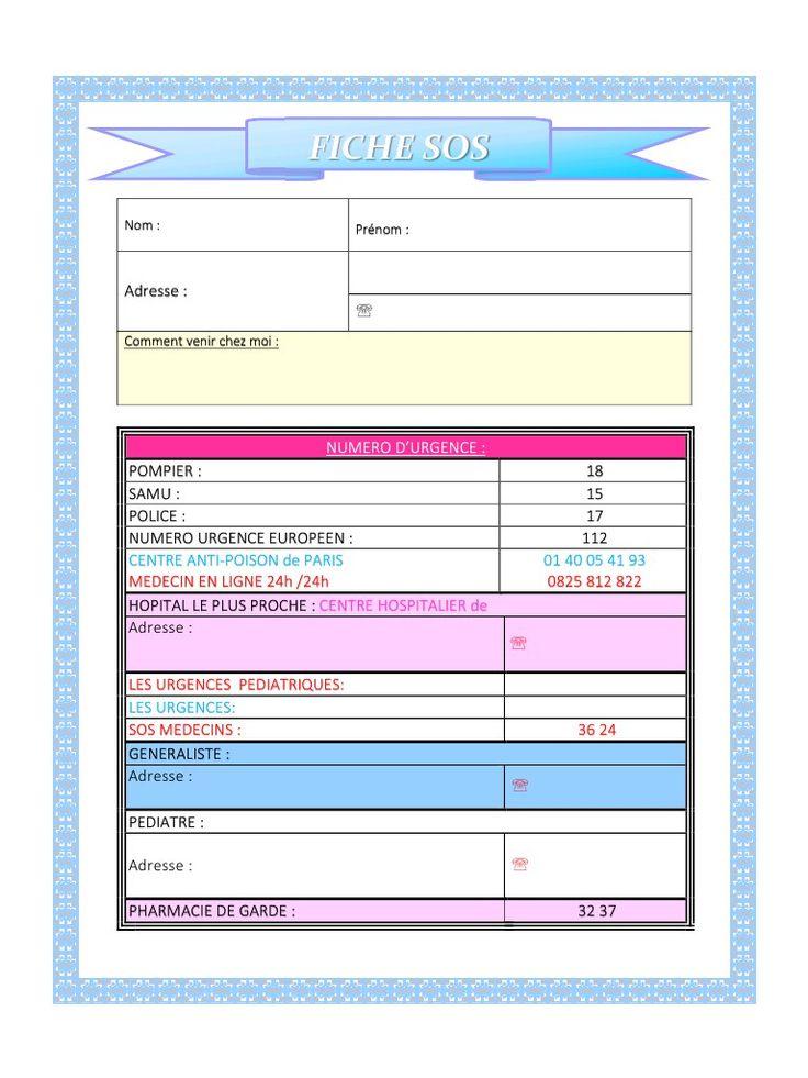 FICHE SOS .pdf - Fichier PDF