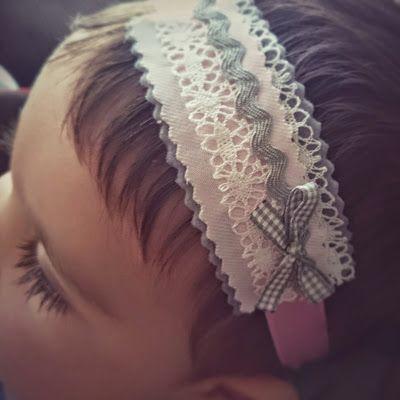 mú mio...: Diademas para una bebé