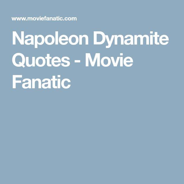 Napoleon Dynamite Quotes - Movie Fanatic