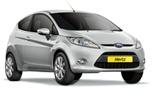 Hertz - Ford Fiesta or Focus w. automatic transmission.  Reserved! Pick up Sept. 3, 16:30 @ Düsseldorf airport.  Drop off Sept. 6 @ Köln airport, 10:30.