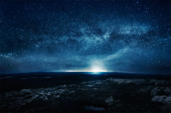 n i g h t by Mikko Lagerstedt, omg I want this in my room!!!!!!