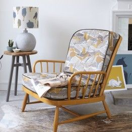 retro elm ochre fabric on ercol chair & 937 best ercol images on Pinterest | Ercol chair Ercol furniture ... islam-shia.org