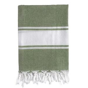 Classic Fouta Towel Green